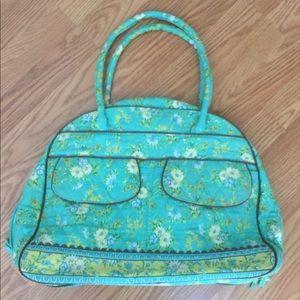 Floral Weekender Bag Set